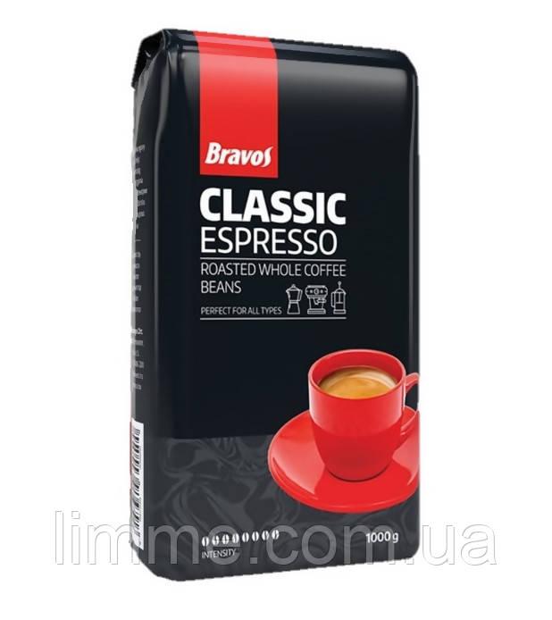 Натуральный молотый кофе Bravos Espresso 1 кг