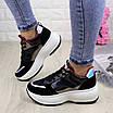 Женские кроссовки helen черные 1260, фото 7