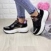 Женские кроссовки helen черные 1260, фото 9