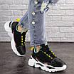 Женские кроссовки Nando черные 1393, фото 4