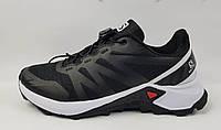Мужские кроссовки Solomon текстильные черные