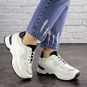 Женские кроссовки белые Kuma 1665