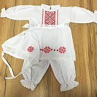 Крестильная одежда для девочки ''Геометрия цветов'', фото 1
