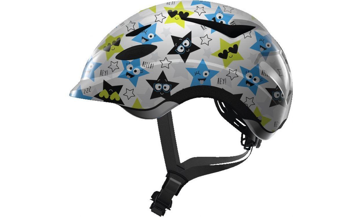Велошлем  детский ABUS ANUKY White Star (M)