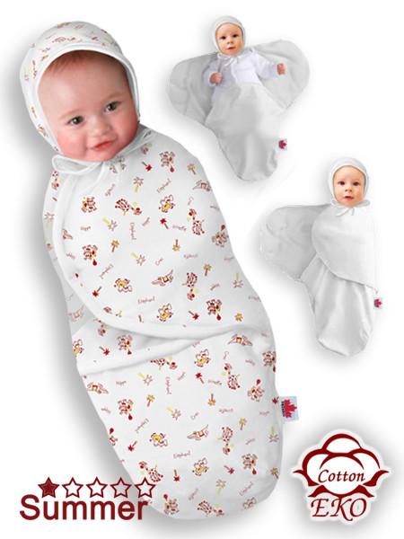 """Пеленка-кокон на липучке для новорожденного """"Африка"""" - Ontario Baby (DS3/Summer)"""