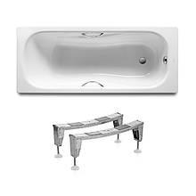 Комплект: PRINCESS ванна 150*75см прямоугольная, с ручками + ножки