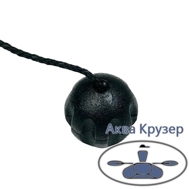 Гайка кочети (баранчик) для надувних човнів ПВХ, колір чорний