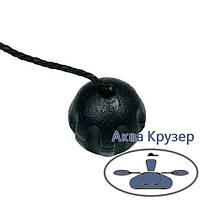 Гайка уключины (барашек) для надувных лодок ПВХ, цвет черный