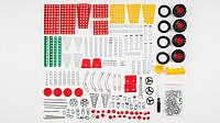 Металлический конструктор ТехноК универсальный (8 моделей). В наборе 304 детали
