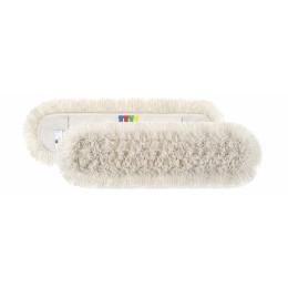 Моп (запаска) для сухой уборки хлопок 80см Basic Cotton с цветным ярлыком