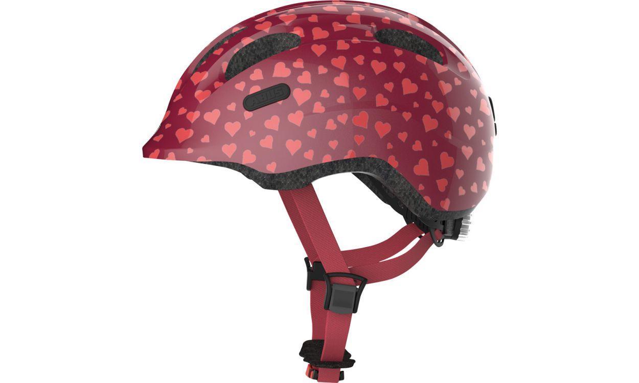 Велошлем ABUS SMILEY 2.1 Cherry Heart