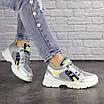 Женские серебристые кроссовки Demmi 1158, фото 2