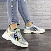 Женские серебристые кроссовки Demmi 1158, фото 5