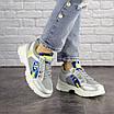 Женские серебристые кроссовки Demmi 1158, фото 6