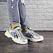 Женские серебристые кроссовки Demmi 1158, фото 7