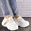 Женские стильные белые кроссовки Sabella 1515, фото 2