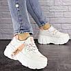 Женские стильные белые кроссовки Sabella 1515, фото 5