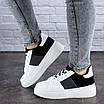 Женские стильные кроссовки белые Rory 1169, фото 4