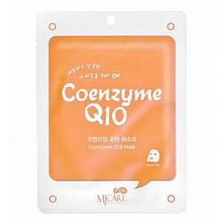 Маска тканевая с коэнзимом Q10 Mijin CareCoenzyme Q10 Mask 22g
