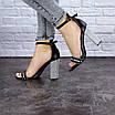 Женские стильные черные босоножки Lady Belle 1188, фото 3