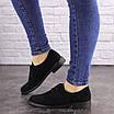 Женские туфли Fluffy черные 1618, фото 5