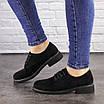 Женские туфли Oreo черные 1465, фото 6