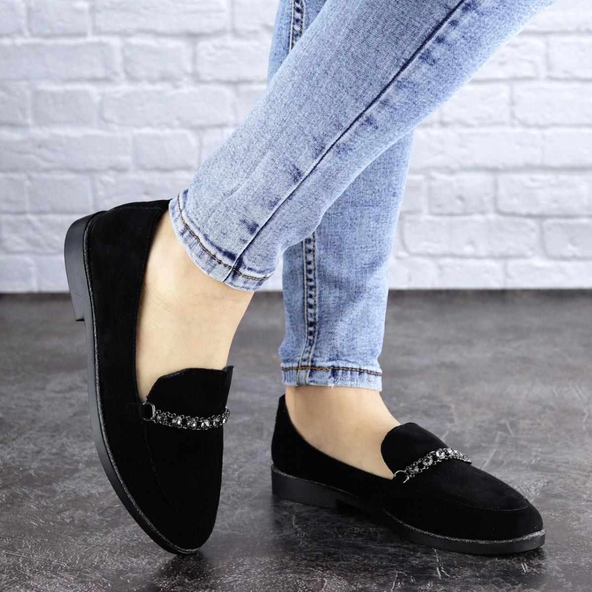 Женские туфли черные Booker 1918