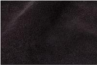 Натуральная кожа Велюр (спил-велюр), черный замш