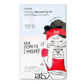 Набор увлажняющих средств для лица (пенка, спонж, маска) Cosrx One Step Moisture Up Kit (8809416471136)