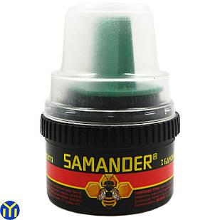 Крем для обуви Samander, черный