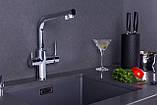 DAICY смеситель для кухни однорычажный с подключением питьевой воды., фото 3