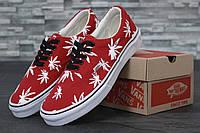 Кеды Vans Red Palm