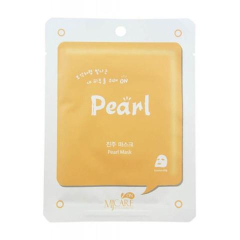Тканинна Маска обеливающая Mijin Pearl Mask 22g