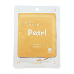 Маска тканевая обеливающая Mijin Pearl Mask 22g