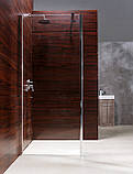 Стенка Walk-In 90*190см, каленое прозрачное стекло 8мм, фото 3
