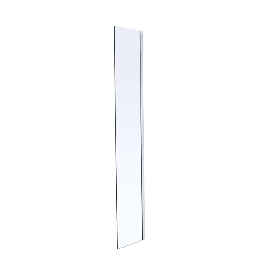 Стенка Walk-In 40*190см, каленое прозрачное стекло 8мм