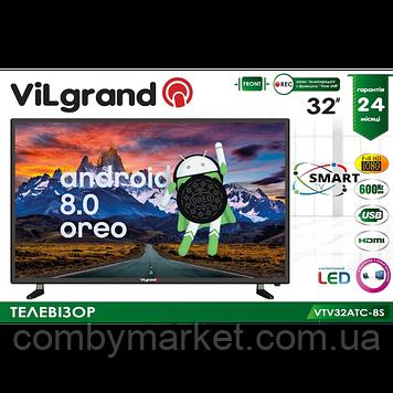 Телевізор smart VILGRAND VTV32AТC-8S