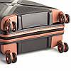 Большой пластиковый чемодан из полипропилена черный Snowball 84803 Франция, фото 4