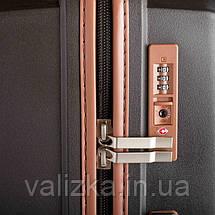 Большой пластиковый чемодан из полипропилена черный Snowball 84803 Франция, фото 3
