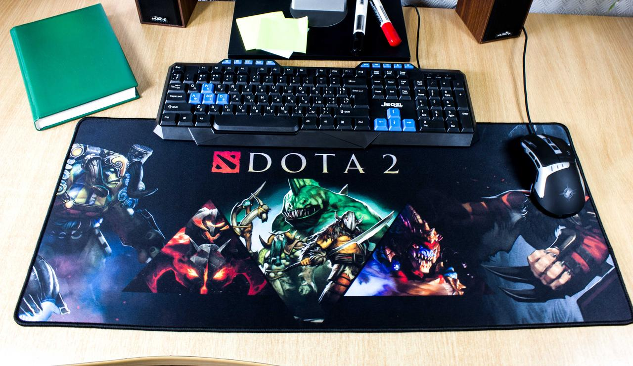 Игровая поверхность Компьютерный игровой коврик для мышки Logilily DOTA D-700-1 70см*30см