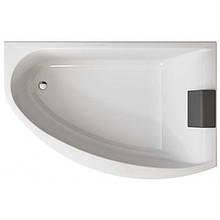 MIRRA ванна 170*110см асимметричная правая, с ножками SN8, элементами крепления и подголовником