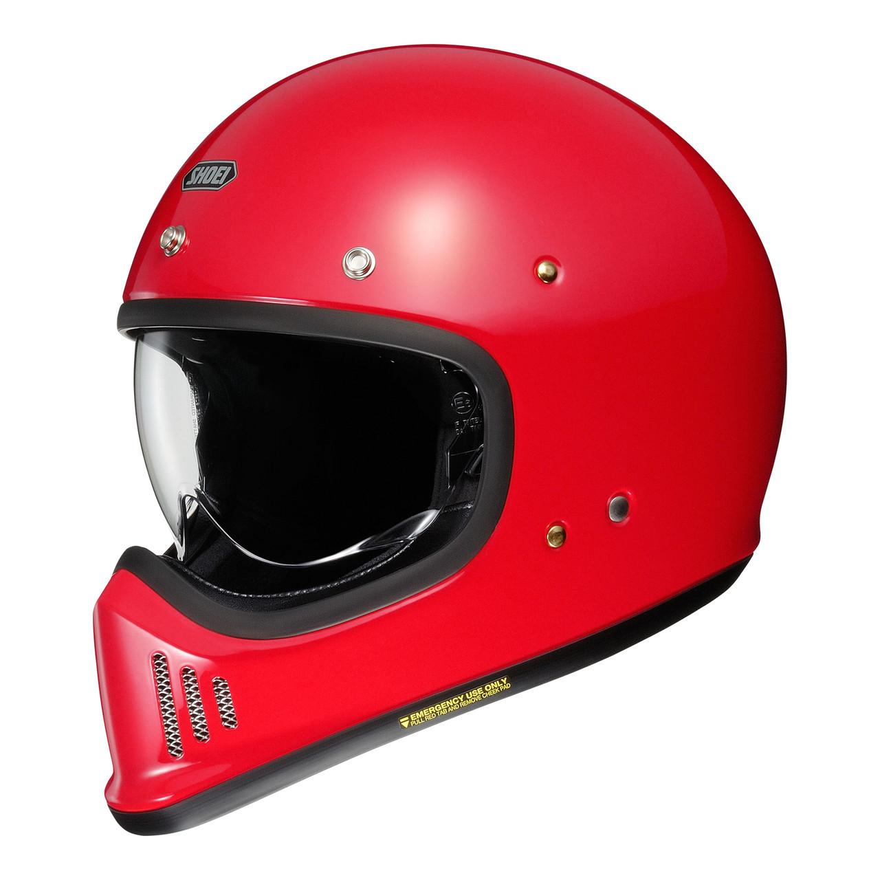 Мотошлем Shoei Ex-Zero Shine Red