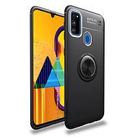 TPU чехол с кольцом Focus для Samsung Galaxy M31 2020 M315 (Разные цвета), фото 1