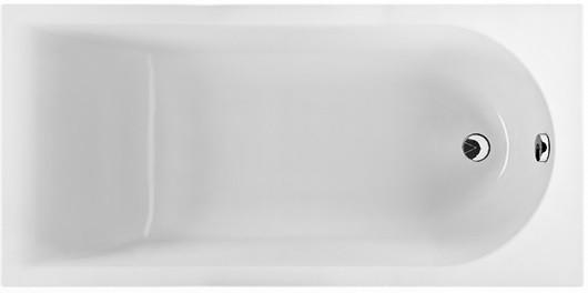 MIRRA ванна 160*75см прямоугольная, с ножками SN0 и элементами крепления