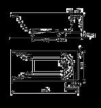 MIRRA ванна 160*75см прямоугольная, с ножками SN0 и элементами крепления, фото 2