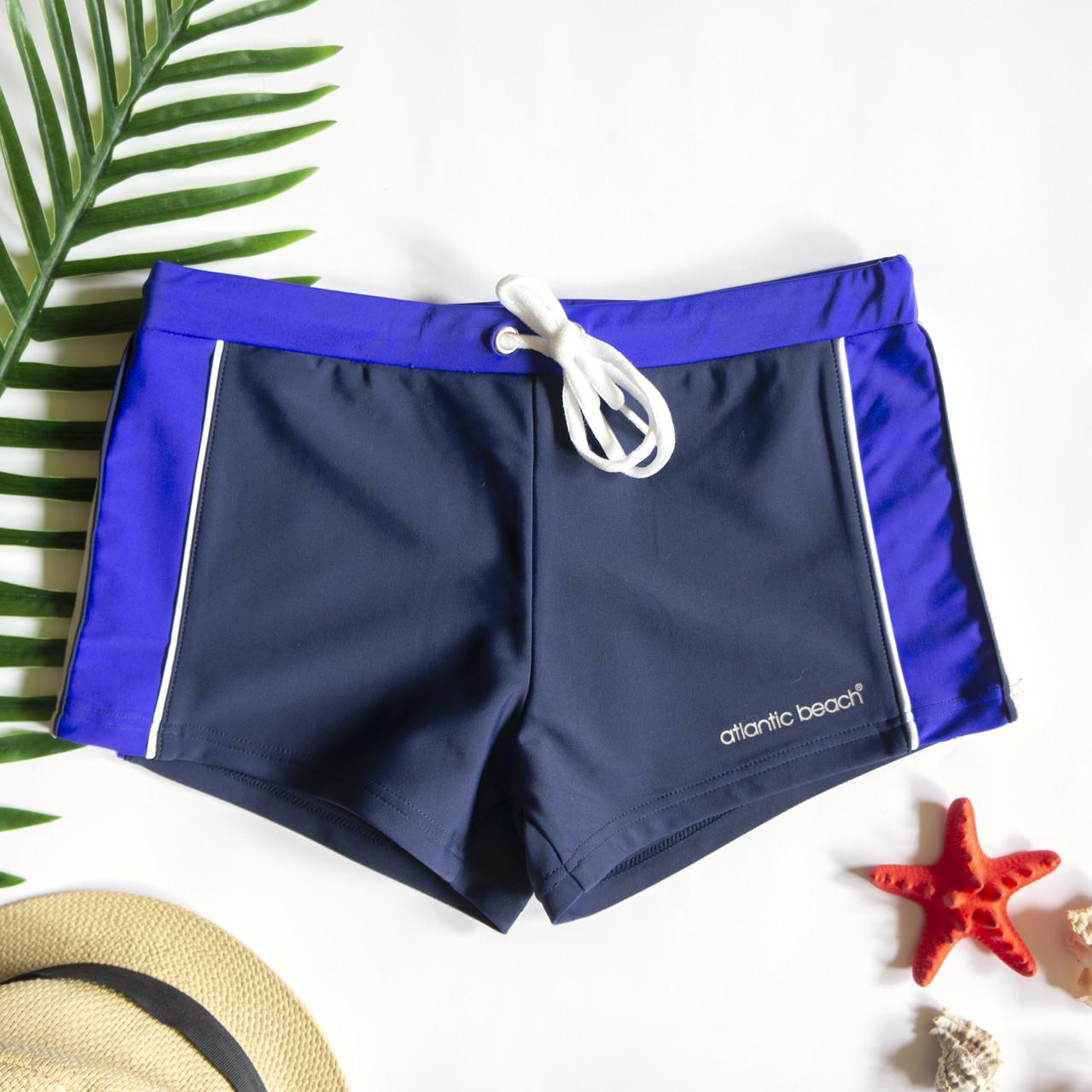 Чоловічі плавки шорти Синій/Білий/Фіолетовий