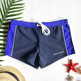Мужские плавки шорты Синий/Белый/Фиолетовый