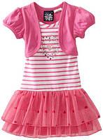 "Платье для девочки розовое ""So La Vita"". Размер:XS (рост:84-89 см.)"
