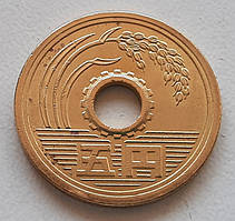 Япония 5 йен 2004