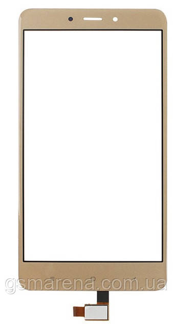 Тачскрин (сенсор) для Xiaomi Redmi Note 4 Золотой